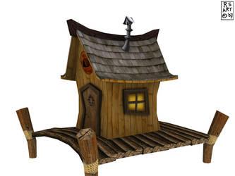 Textured Fisherhouse 2