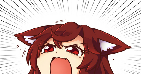 Angery by miwol