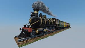 Perplex Express Minecraft Build / Voxel Art