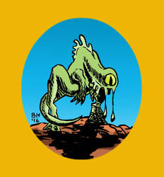 Alien by benhazell