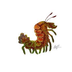 Mutant Crustacean by benhazell
