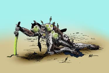 Fallen Hero by benhazell