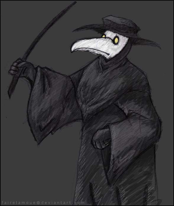 Plague Doctor -old- by fairelamoue