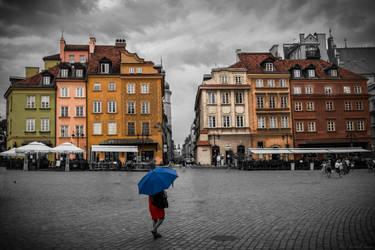 Walking in the Rain by KingKlever