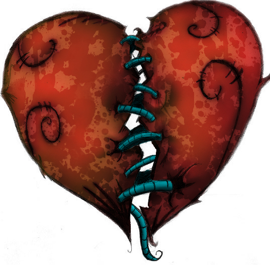 Broken Heart Images Broken heart - colorized by
