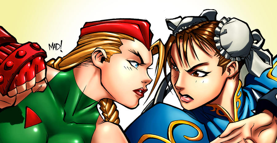 Cami and Chun-li by donnobru