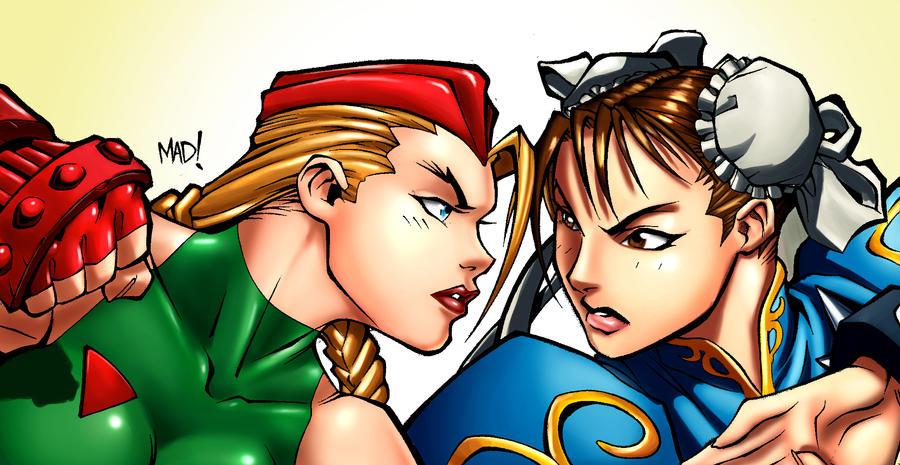 Cami and Chun-li by donnobru