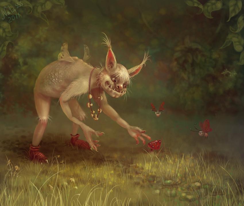 Kind monster by Svezhaya