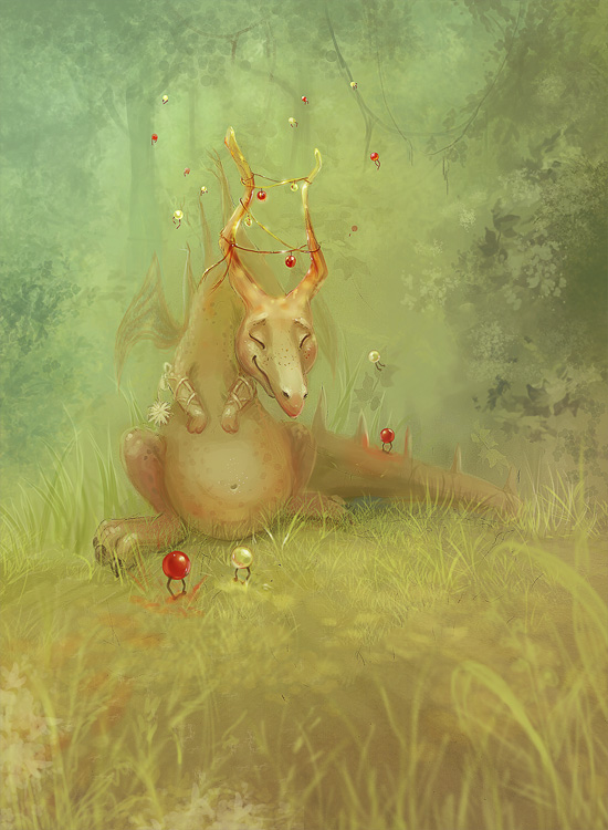 Draco by Svezhaya