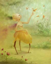 Green fantasy by Svezhaya