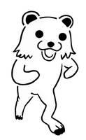 Pedo Bear Stencil by Custard-Cream