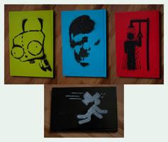 Notebook Stencils by Custard-Cream