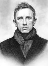 Daniel Craig by ekota21