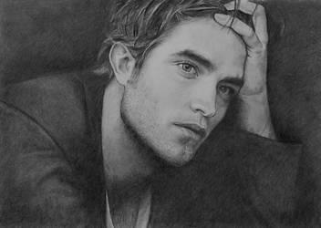 Robert Pattinson  by ekota21
