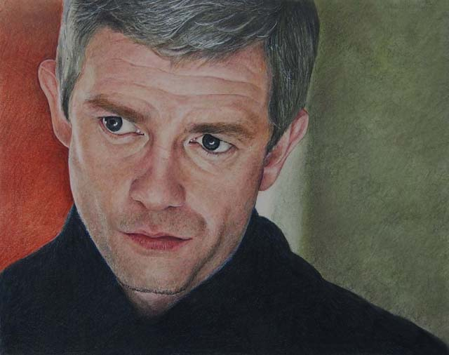 Martin Freeman by ekota21