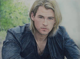 Chris Hemsworth2 by ekota21