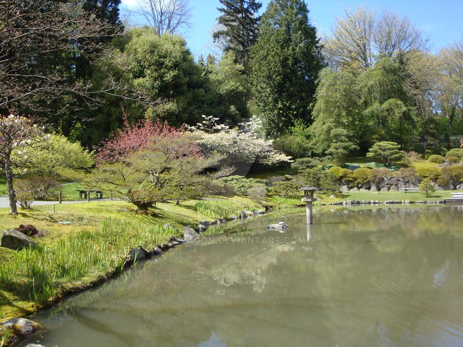 Japanese garden pond 2 by lillagon on deviantart for Garden pond reddit