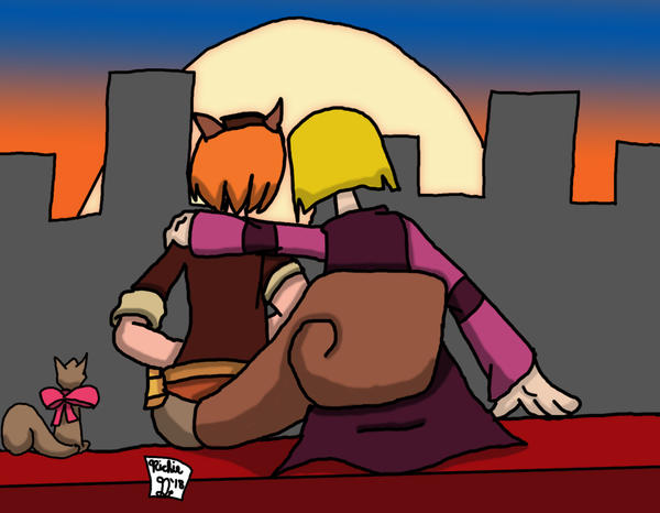 Setback [x Squirrel Girl (In A Better Place)] by Retro7