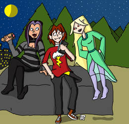 Total Undead Drama [Hanging With The New Girls]