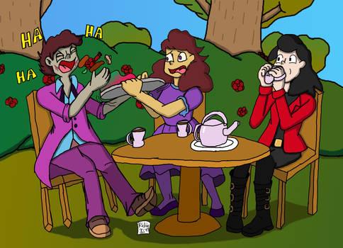 Art Trade [TyelerKostlan (Chaotic Tea Party)]