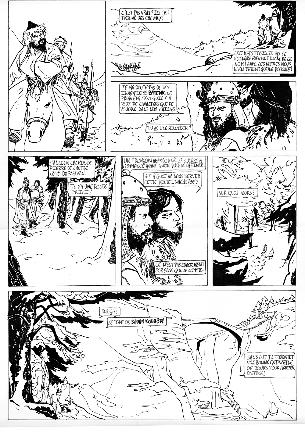 La tanière de Khalizya - Page 2 Guerriers_mongols_by_khalizya-d5utc1x