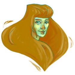 Une goutte de cheveux