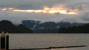 Sunset On Cresap Bay