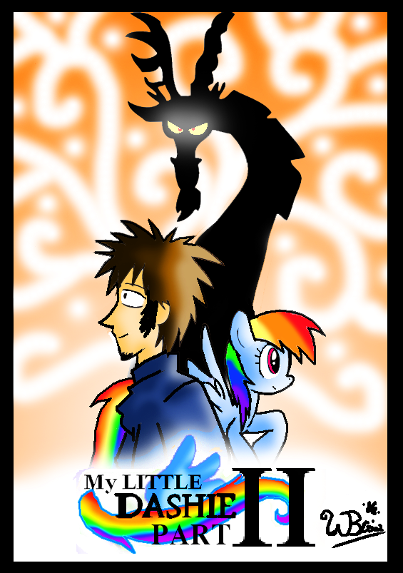 My Little Dashie II: COVER PAGE by NeonCabaret