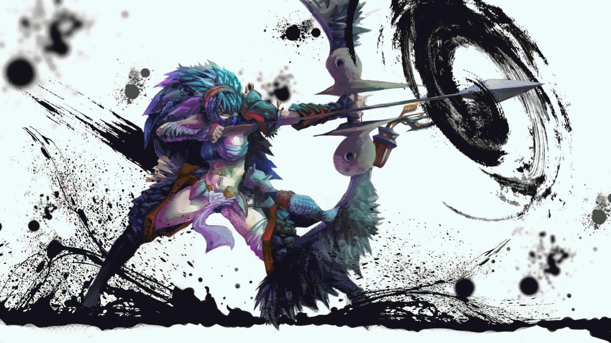 Pixel Art Anime Girl