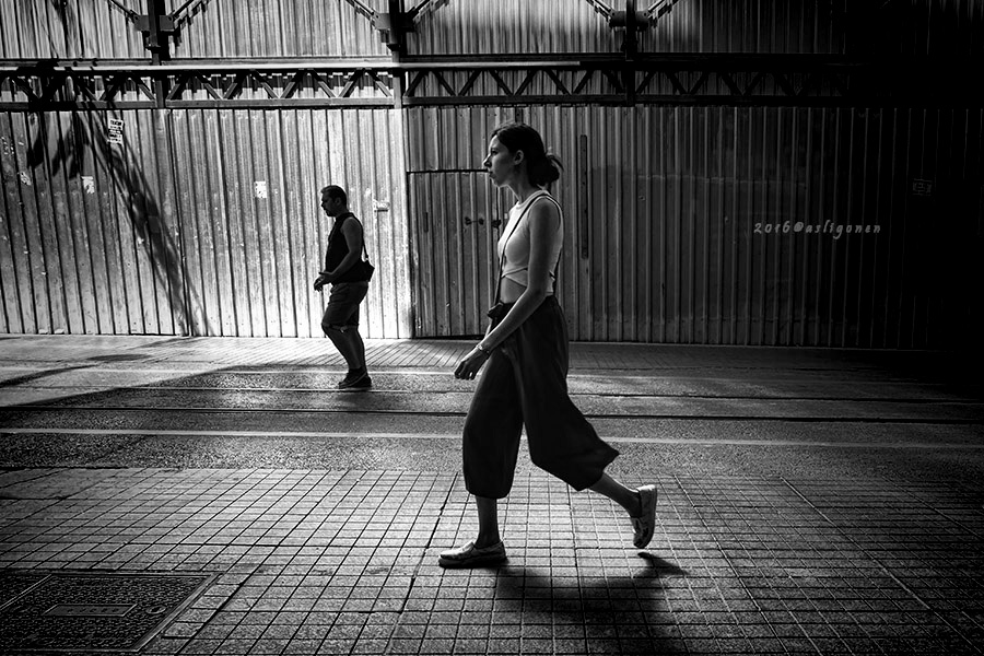 on the street by pigarot