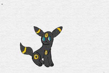 Tron the umbreon by fisherman117