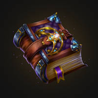 The Magic Book Icon by merrrigold