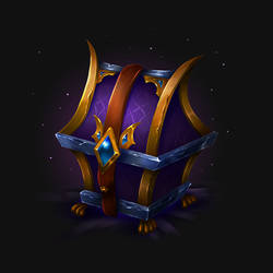 The Magic Chest Icon by merrrigold