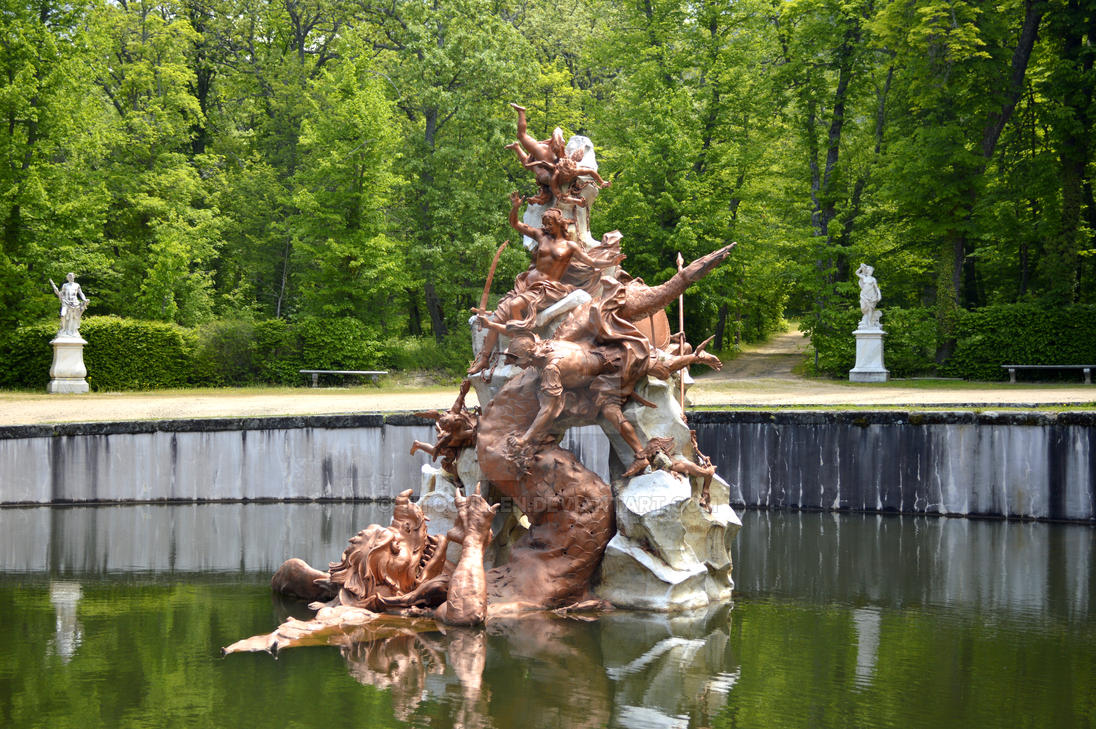 #Fuentes #Jardines #Esculturas #Andromeda by TitoCullen