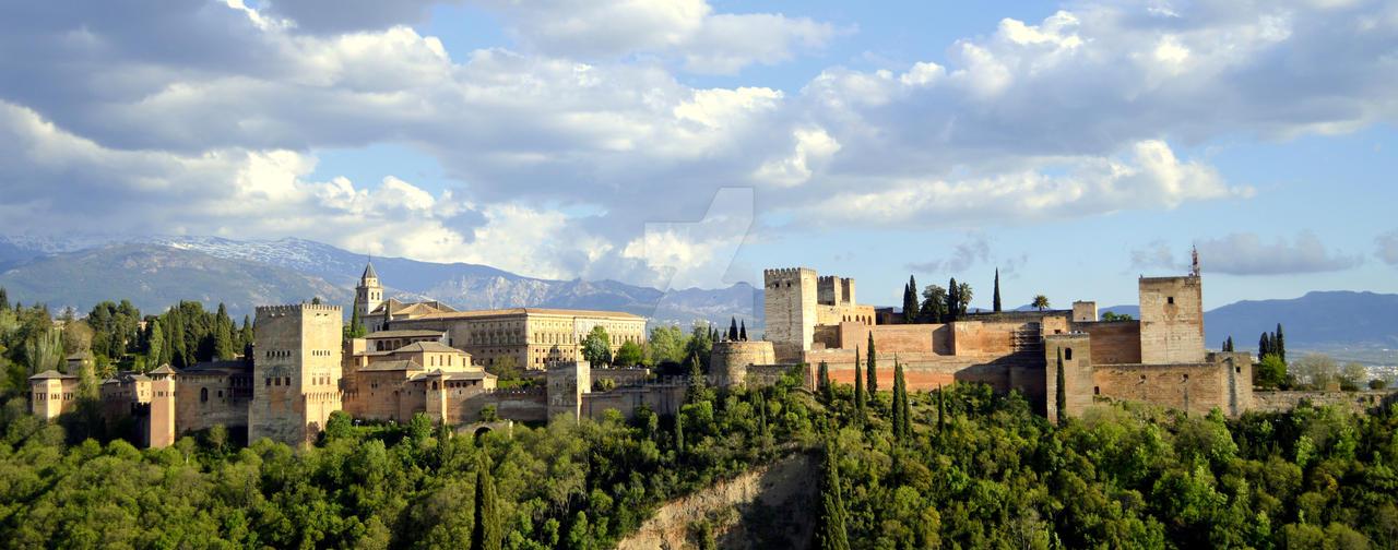 #Paisaje #Granada #Alhambra by TitoCullen