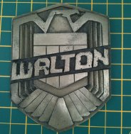 My Dredd 2012 badge by dicewarrior
