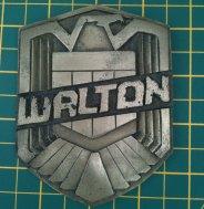 My Dredd 2012 badge by dicewarrior