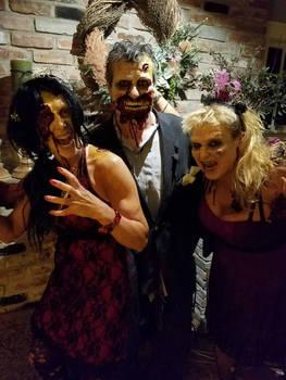 Zombie Prom makeup 2016