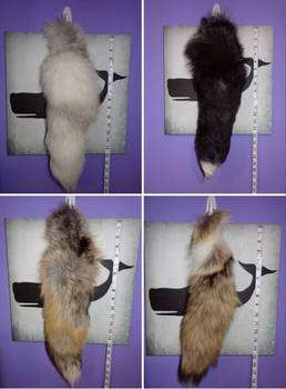 New Real Fur Tails