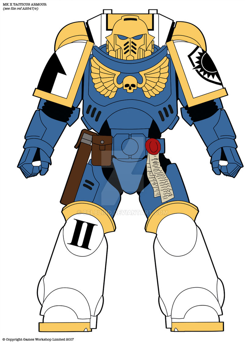 Dawn Guard Color Scheme Space Marine Chapter By Belblind