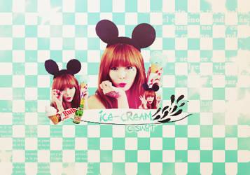 HyunA-IceCream by SwifT-98