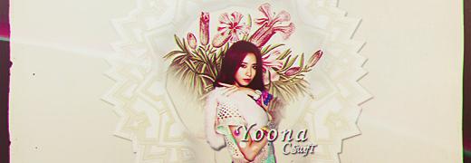 Yoona-Flowers by SwifT-98