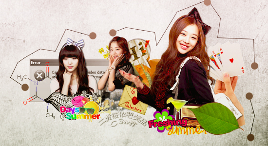 Sulli collage by SwifT-98