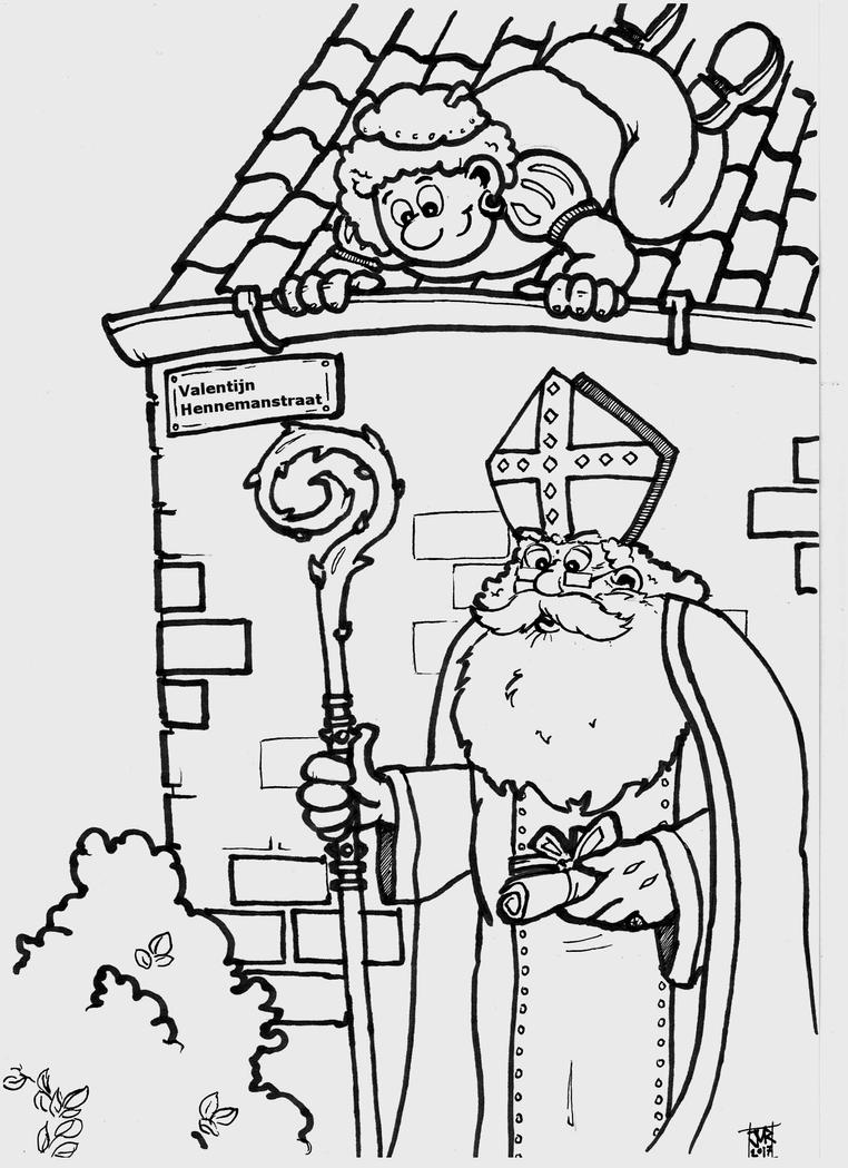 Saint Nicholas by Strooitje