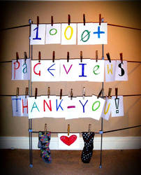 1000+ pageviews Thank-You