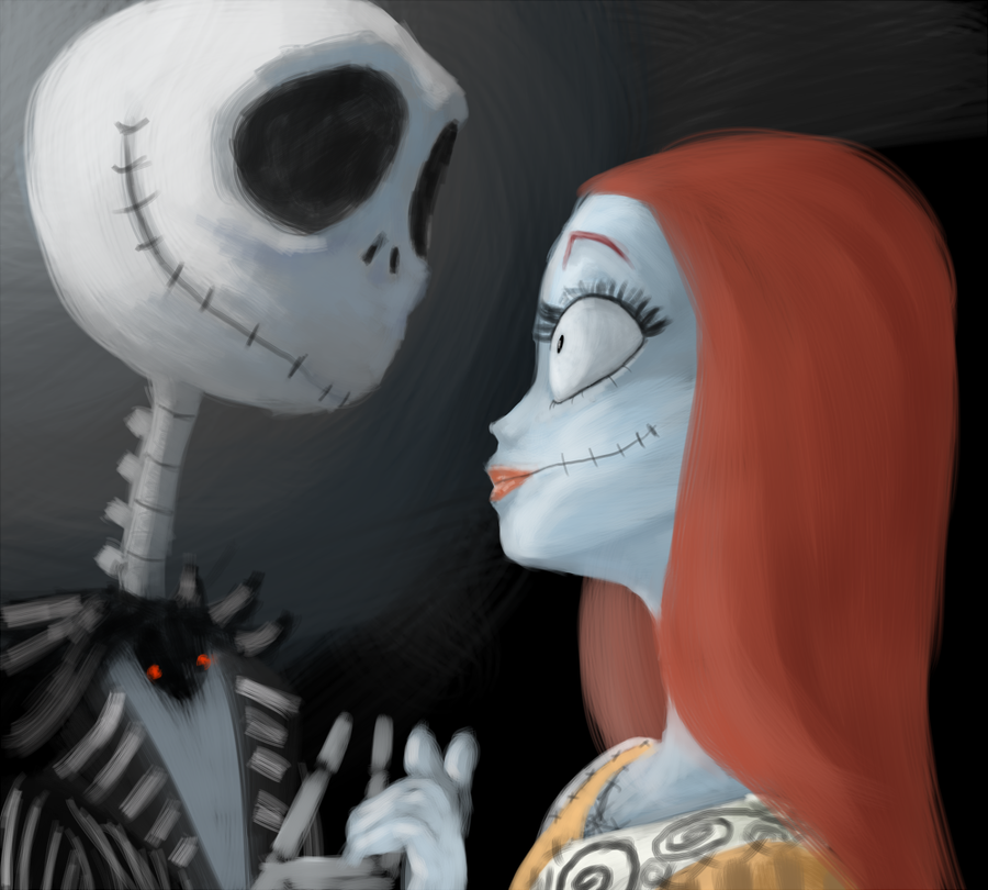 jack and sally by tadikarawo on DeviantArt Nightmare Before Christmas Jack
