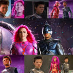 Sharkboy and lava girl collage
