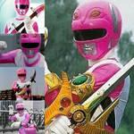 Lost galaxy pink ranger collage