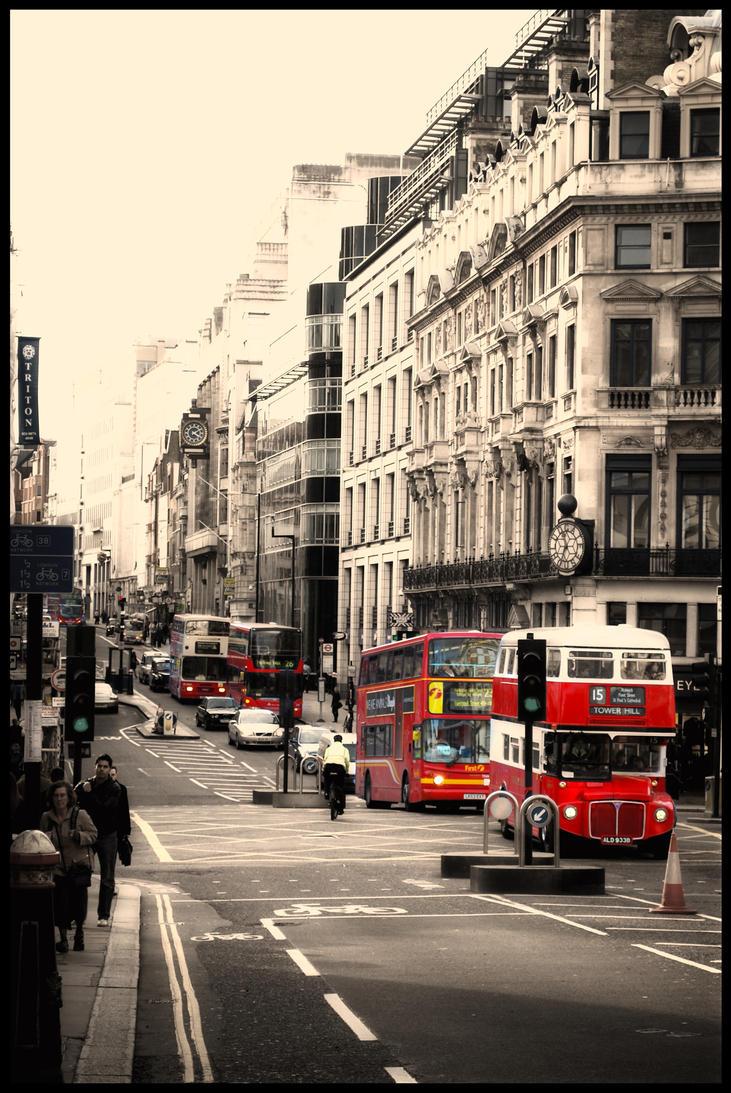 Vintage London Bus 24
