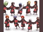 Akatsuki Dance wallpaper